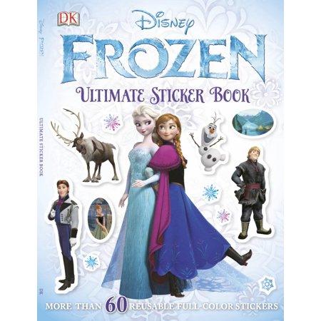 Ultimate Sticker Book Frozen