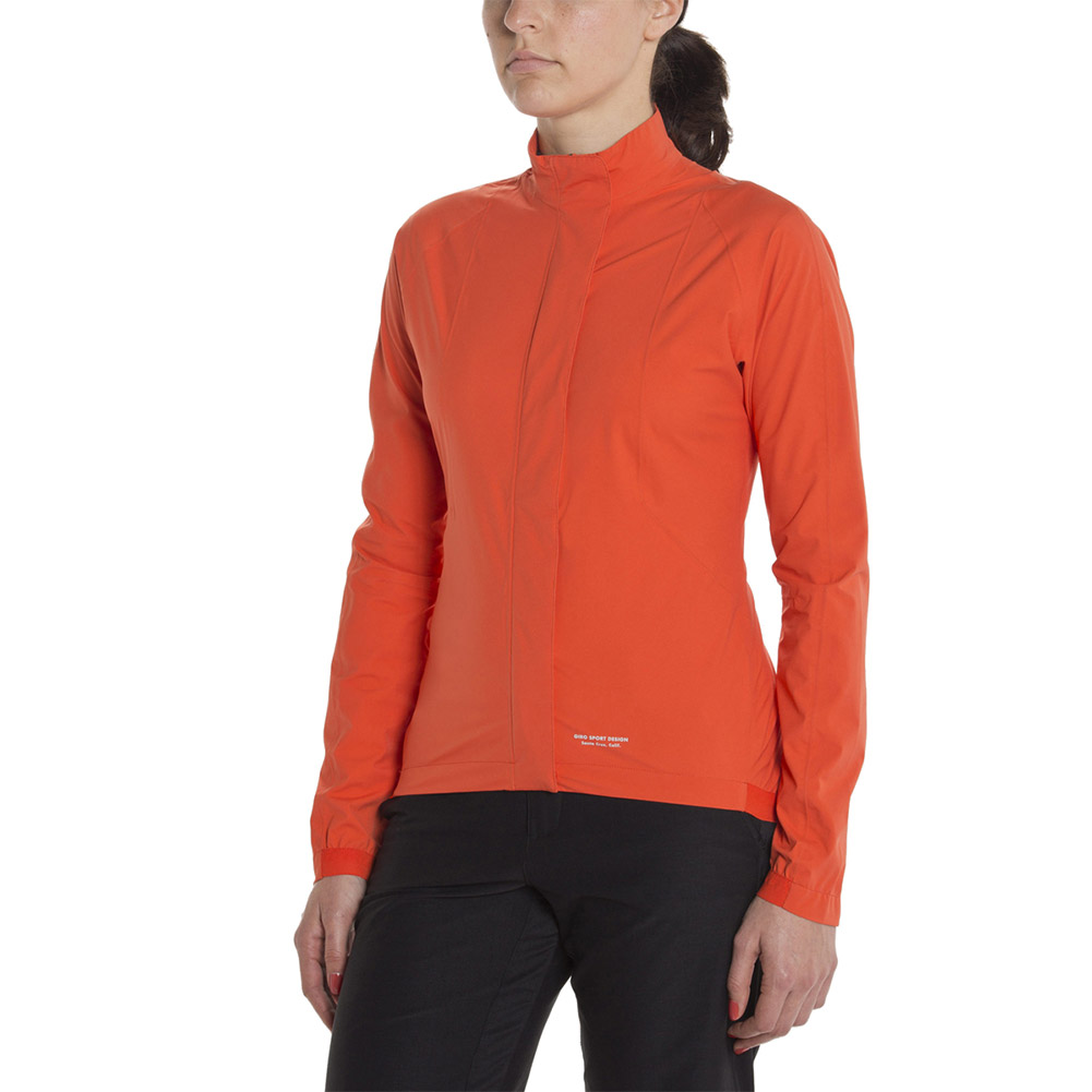 Giro Women's Rain Cycling Jacket, Glowing Red (Large) by Giro