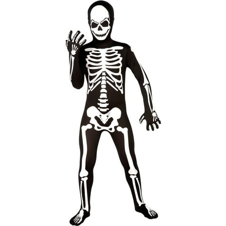 Skeleton Skin Suit Boys Halloween (Jackson's Denver Halloween)