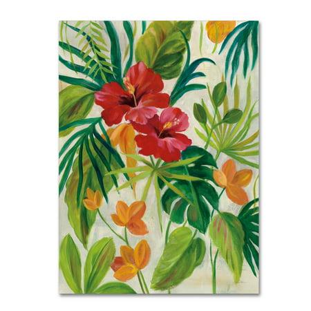 - Trademark Fine Art 'Tropical Jewels II v2' Canvas Art by Silvia Vassileva