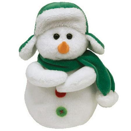 TY Beanie Baby - MR SNOW the Snowman (6 inch)