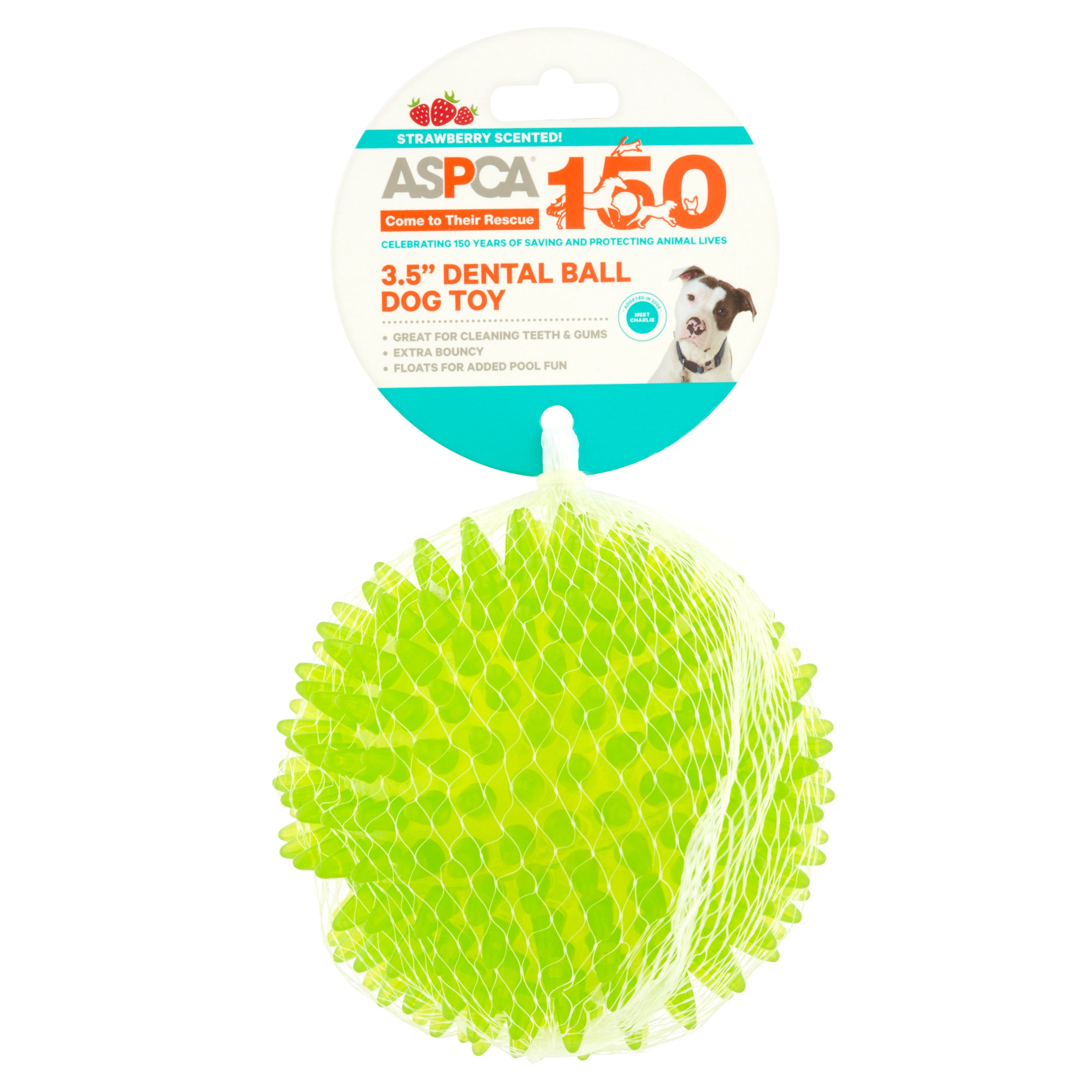 "ASPCA 3.5"" Dental Ball Dog Toy"