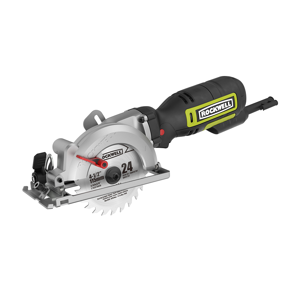 Rockwell RK3441K 4 -1/2 in. 5.0 Amp Compact Circular Saw