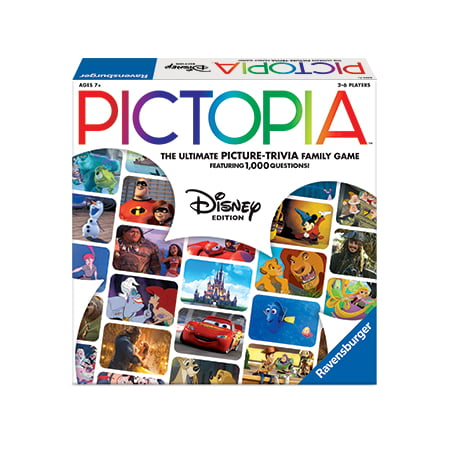 Disney Pictopia! Family Trivia - Best Trivia Board Games