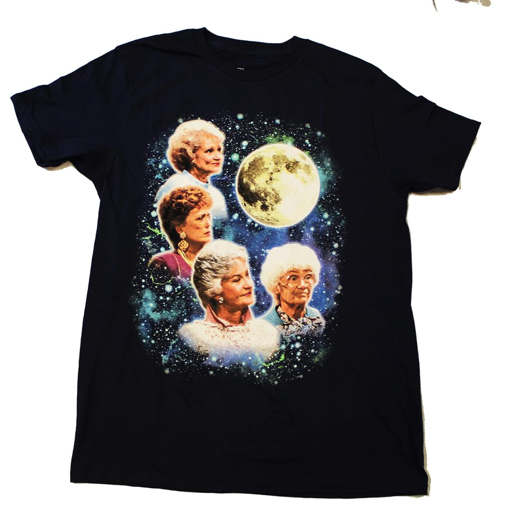 f706ba0e Golden Girls Super Vintage Moon Men's Navy T-Shirt - Small   Walmart Canada