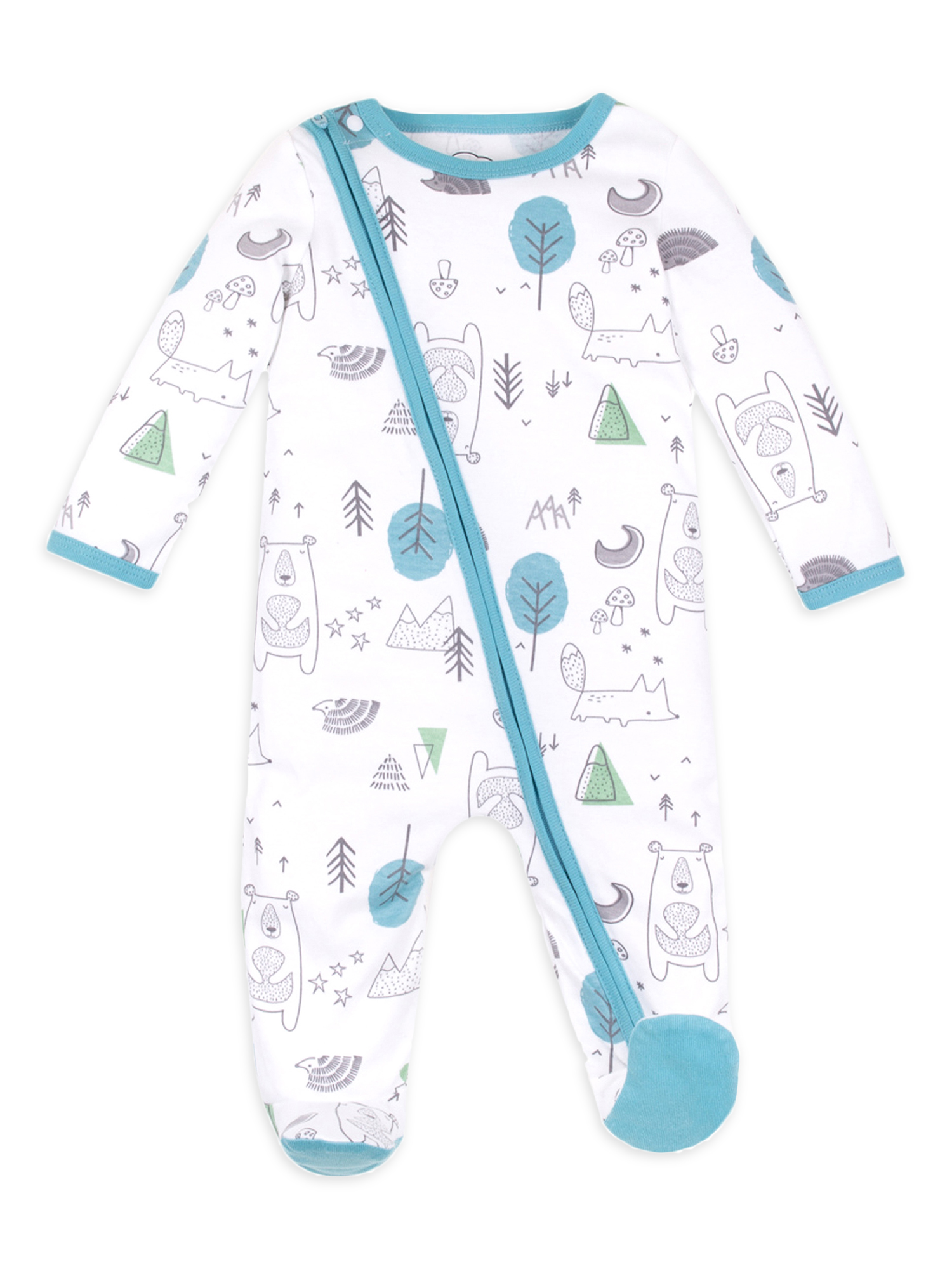 Lamaze Organic Baby Baby Boys Reusable and Washable Toddler Potty Training Pants Cotton Cloth Blue 4T