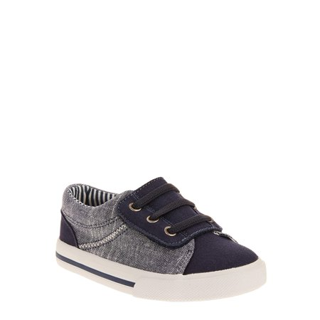 Heel Boy Shoes - Wonder Nation Toddler Boys' Casual Canvas Play Sneaker
