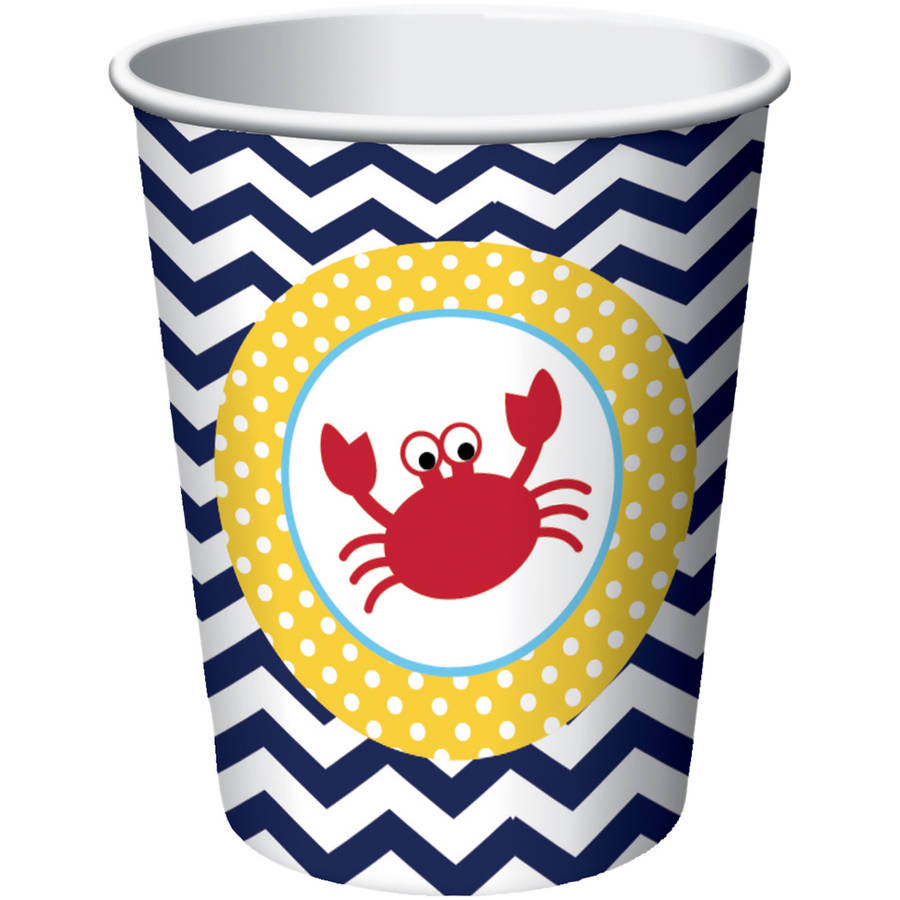 Image of Ahoy Matey! Cups, 8-Pack