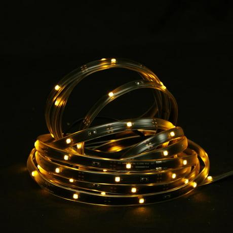 18 39 ambre led int rieur ext rieur clairage linear tape for Eclairage noel exterieur led