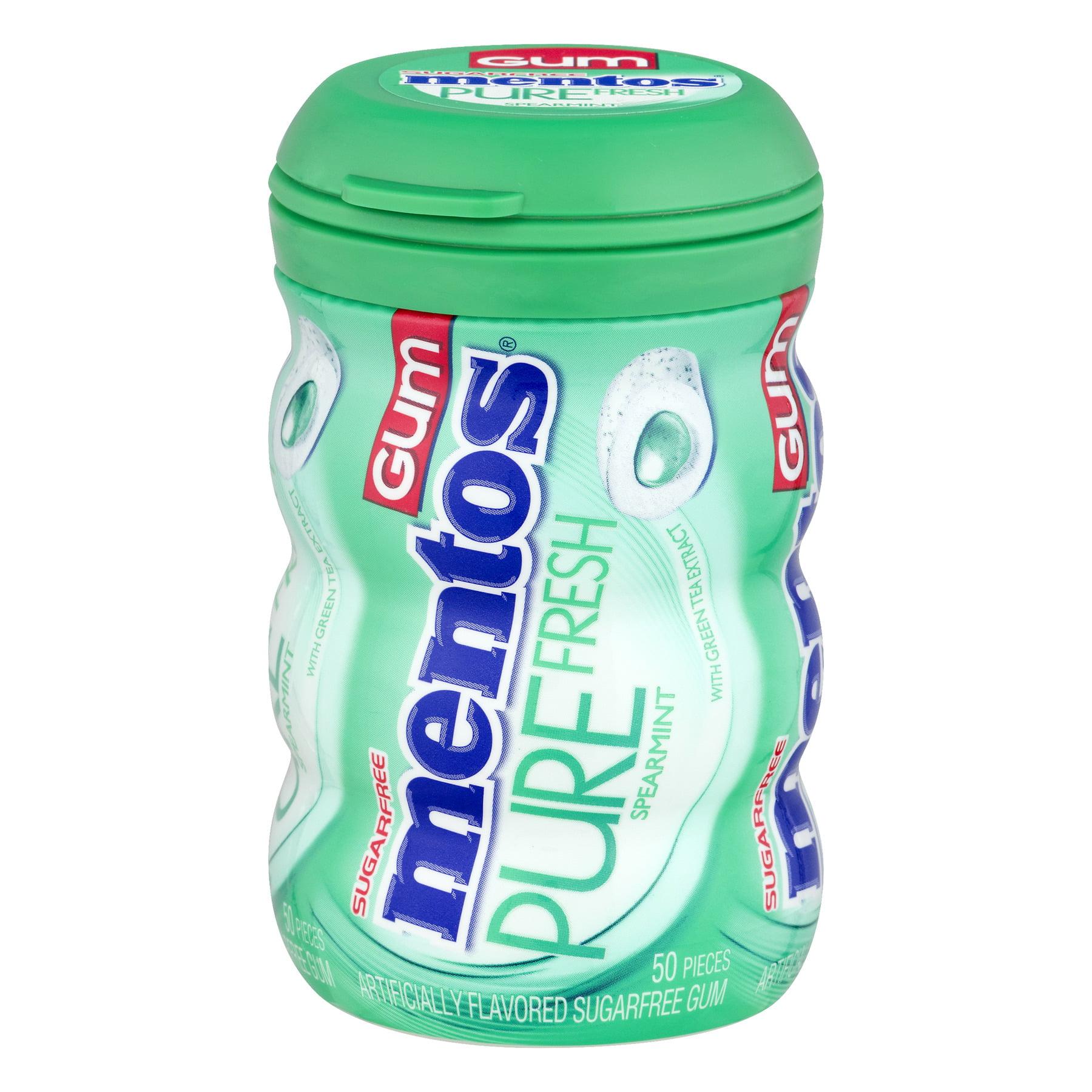(4 Pack) Perfetti Van Melle Mentos Pure Fresh Gum, 50 ea