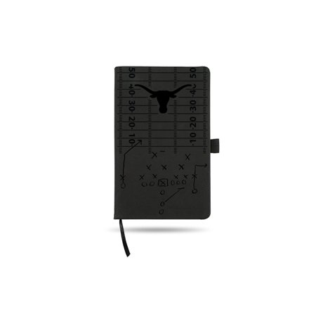 Texas Longhorns Laser Engraved Black Notepad With Elastic Band Texas Longhorn Band