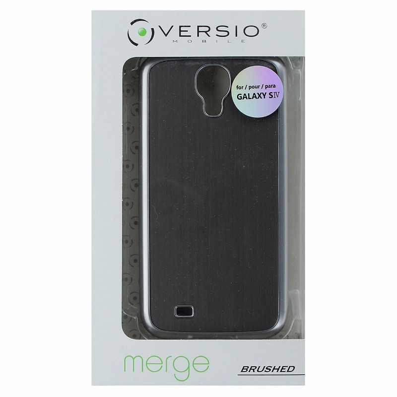 Versio Lightweight Hard Shell Case Cover For Samsung Galaxy S4 Silver