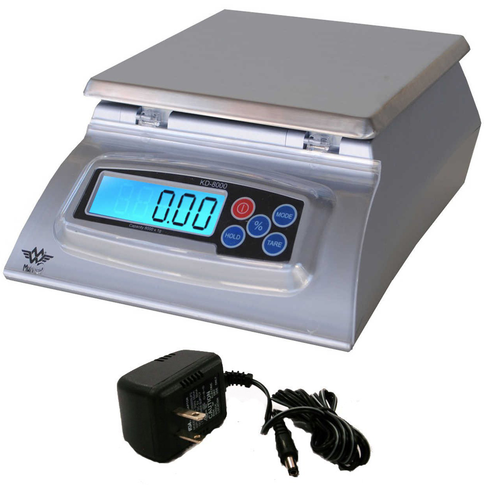 My Weigh KD-8000 Kitchen And Craft Digital Scale + AC Adapter