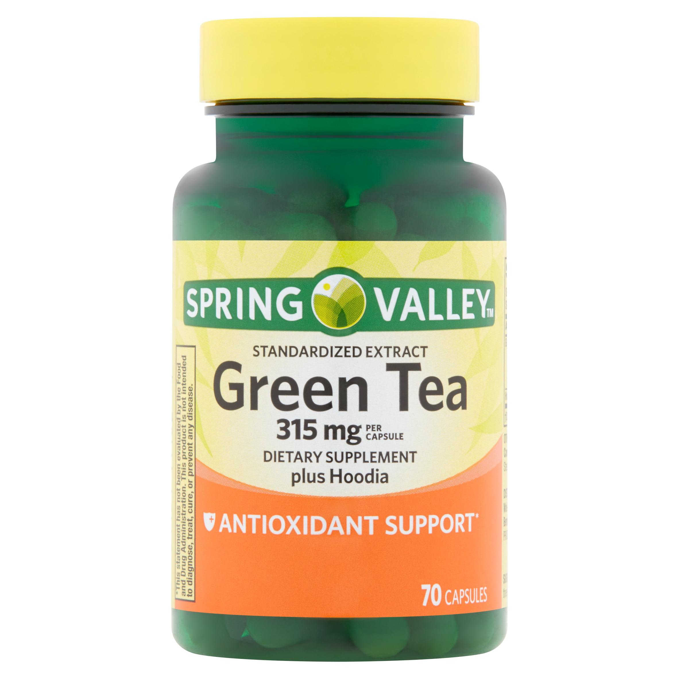 Spring Valley Standardized Extract Green Tea Plus Hoodia Capsules