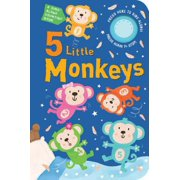 5 Little Monkeys A Sing Along Counting B (Board Book)