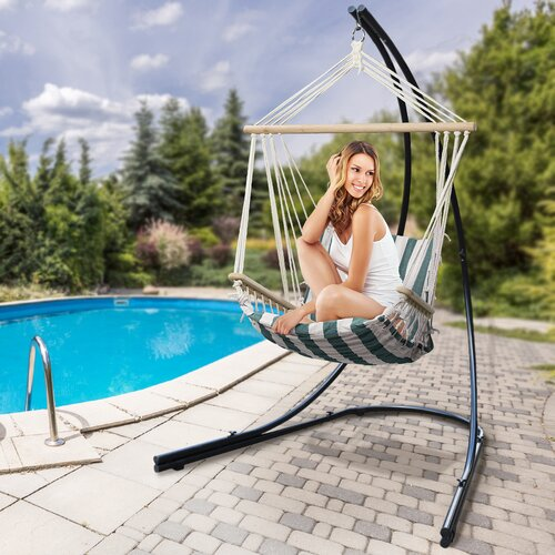 Freeport Park Esther Metal Hammock Chair Stand