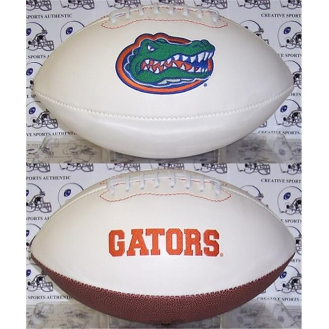 Creative Sports FBC-GATORS-Signature Florida Gators Embroidered Logo Signature Series Football