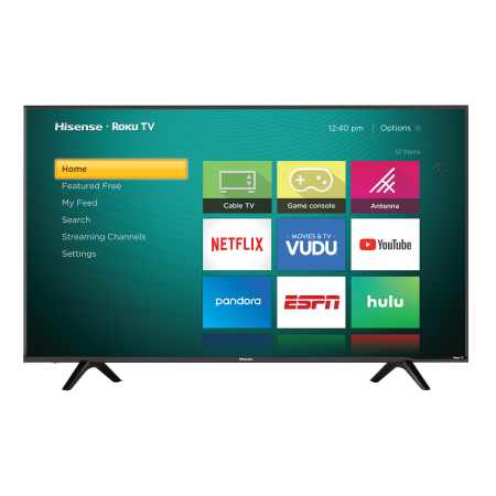 "Hisense 60"" Class 4K Ultra HD (2160P) HDR Roku Smart LED TV (60R5800E)"