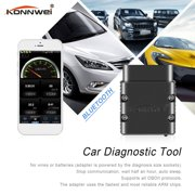 Konnwei KW902 ELM327 Bluetooth OBD2 Car Diagnostic Scanner Code Reader Tool