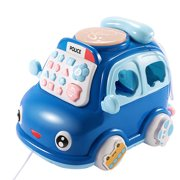 Iuhan Children's Multifunctional Phone Toy Car Puzzle Home Landline Mobile Phone Boy