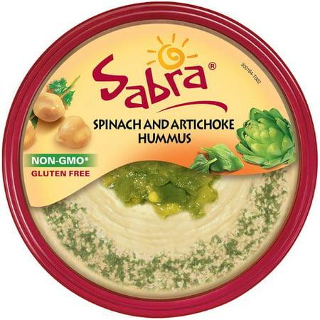 Sabra Spinach & Artichoke Hummus, 10 oz - Walmart.com