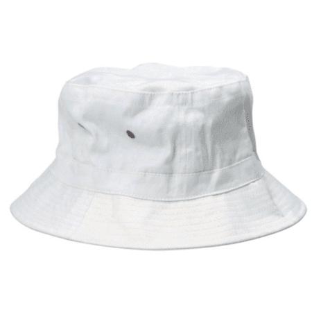White Bucket Hat (Hunter S Thompson White Bucket Hat Fear And Loathing in Las Vegas Raoul)