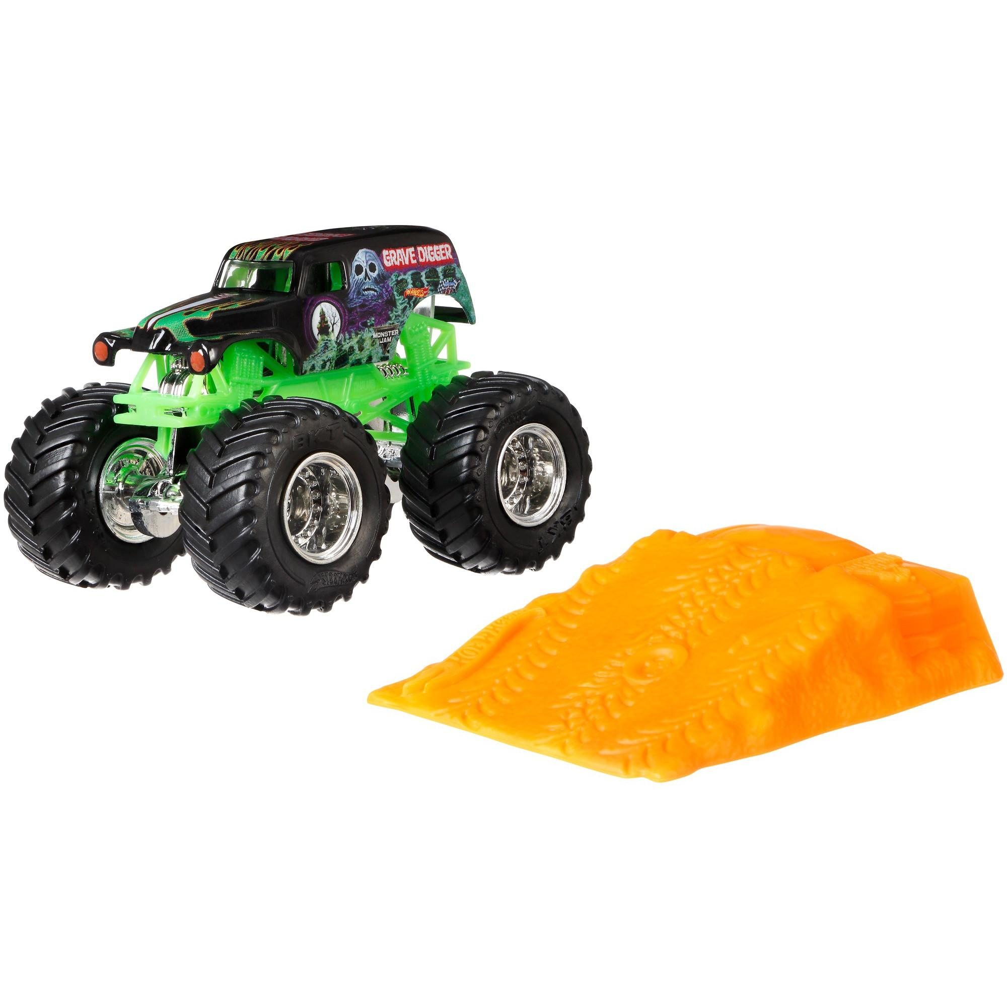 Hot Wheels Monster Jam Grave Digger Vehicle by Mattel