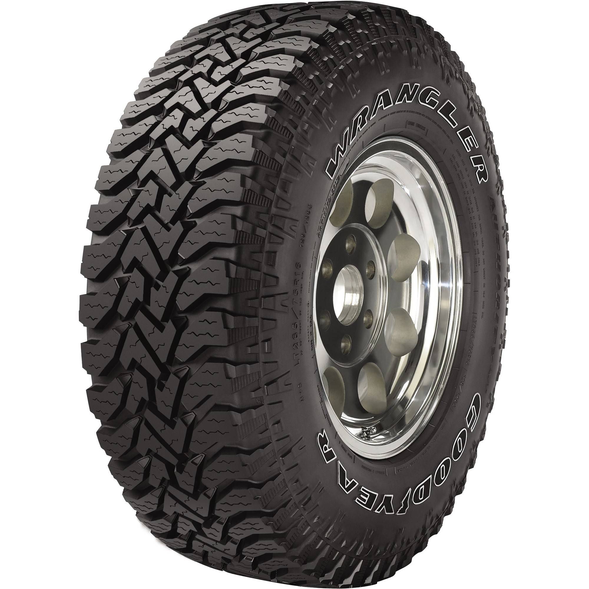Goodyear Wrangler Authority Tire LT245/75R16E 120Q