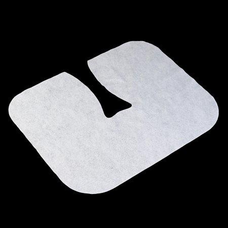 Moaere 100 Pcs Disposable Massage Table Face Rest Cushion Covers Headrest Cradle Sheets - image 4 de 9