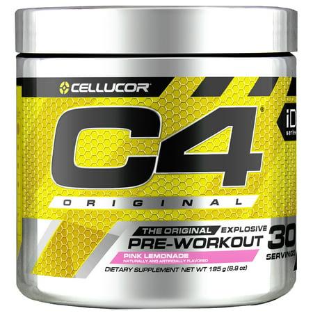 Cellucor C4 Original Pre Workout Powder, Pink Lemonade, 30 (Best Dmaa Pre Workout 2019)