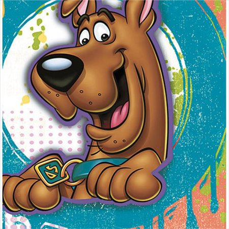 Paint Splatter Party Supplies (Here Comes Scooby-Doo! 'Paint Splatter' Lunch Napkins)