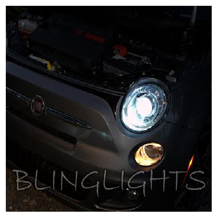 fiat 500 bright white upgrade replacement light bulbs for headlamps