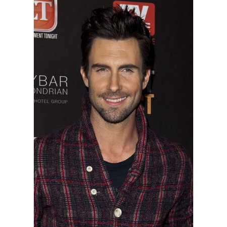 Adam Levine At Arrivals For Tv Guide Magazine Annual Hot List Party Skybar At The Mondrian Hotel Los Angeles Ca November 12 2012 Photo By Emiley Schweicheverett Collection Photo Print