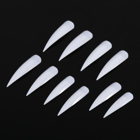 Ejoyous 50Pcs Fashionable False Fake Nail Artificial Fingernails Manicure Decoration Tips 3 Colors, Artificial False Nail,False (Best Way To Get Fake Nails Off)
