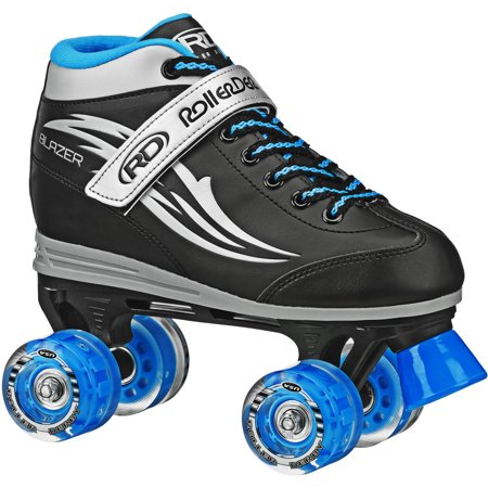 Blazer Boy\'s Lighted Wheel Roller Skate (Skate Wheels Set)