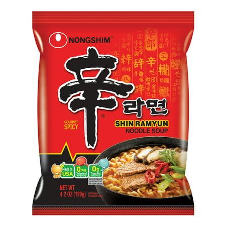 Nongshim Shin Ramyun, 4.2 Oz, 10 Ct (Ray-bun)