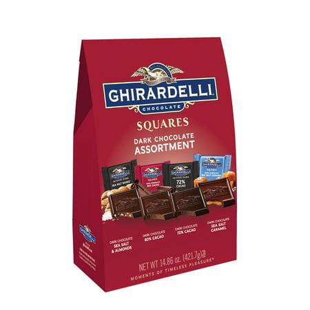 Ghirardelli Dark Chocolate Assortment, 14.86 Oz