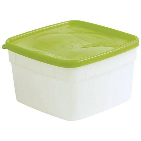 Arrow Plastic Stor - Keeper Freezer Storage Containers, Pack of 5, 2 - Plastic Containers Freezer
