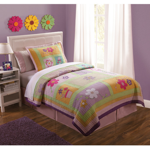 Sweet Helen Twin Quilt with Pillow Sham