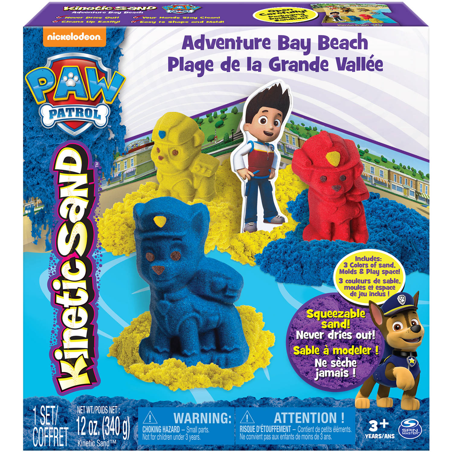 The One and Only Kinetic Sand Paw Patrol Adventure Bay Beach