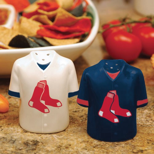 Boston Red Sox Gameday Ceramic Salt & Pepper Shakers - No Size
