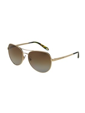 16bed80a28c Product Image Tiffany Sun 0TF3051B Full Rim Pilot Womens Sunglasses - Size  58 (Polar Brown Gradient)
