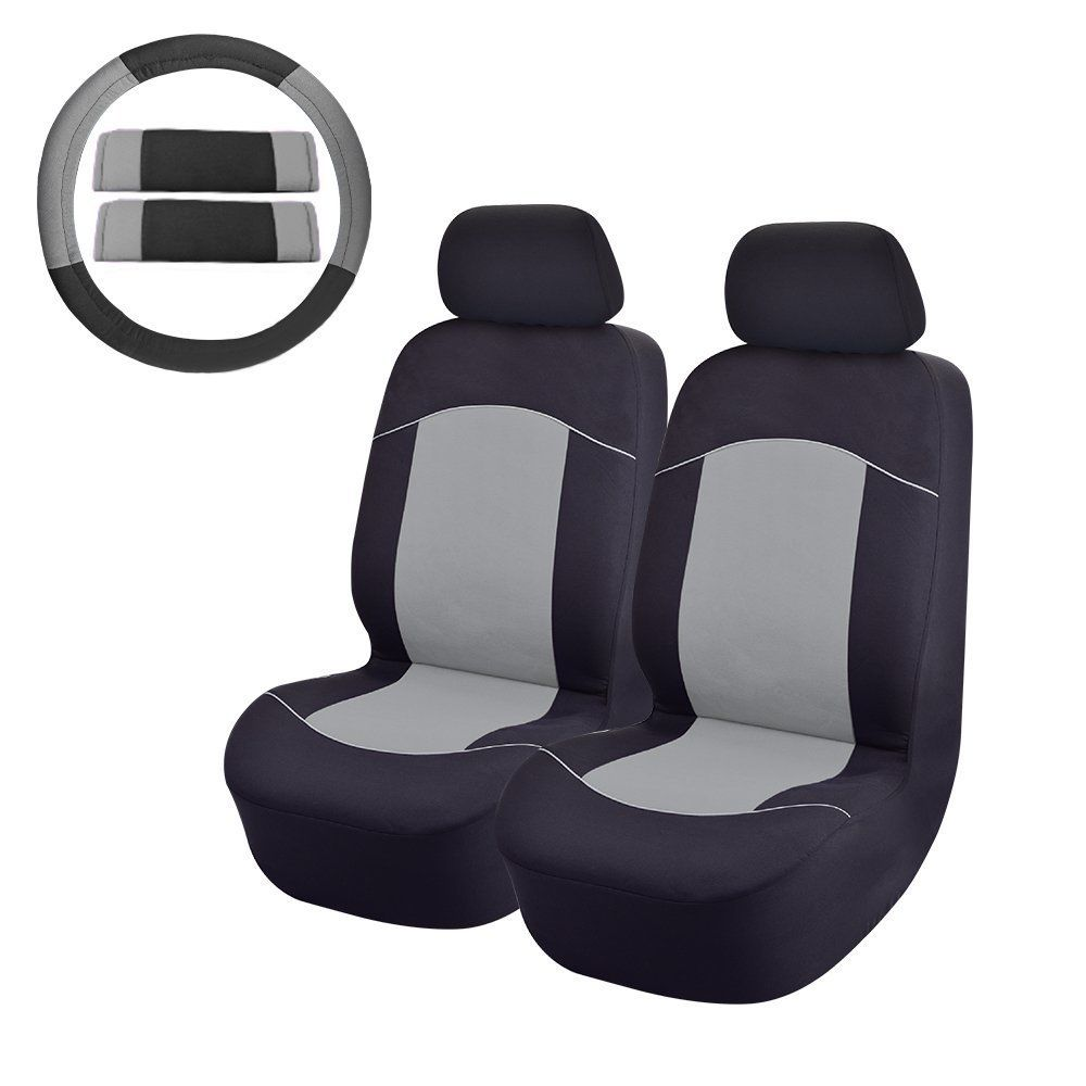 8PC Front Car Seat Covers For SUV Truck or Van