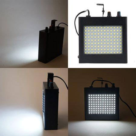 Efavormart 108 LED 25 Watt White Strobe Dual Mode Flash Light With Speed Control For Wedding Birthday Party Event Decoration