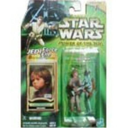 Anakin Skywalker As A Child (ANAKIN SKYWALKER * MECHANIC * Star Wars Power of the Jedi Collection 1)
