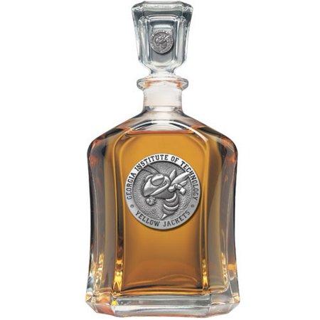 Georgia Tech GT Decanter Whiskey Liquor Bottle