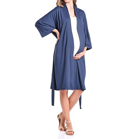 9944fc6653004 Beachcoco - Beachcoco Women's Maternity Robe for Delivery and Nursing -  Walmart.com