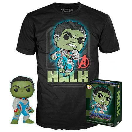 Funko POP! Marvel Hulk Vinyl Figure & T-Shirt [Large]