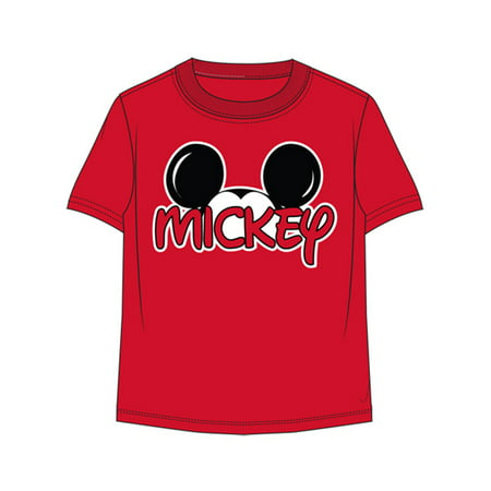 Disney Youth Mickey Family - Red - Small Tee](Personalized Disney Shirts For The Family)