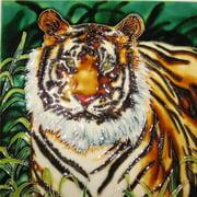 Continental Art Center Art Tile - Tiger